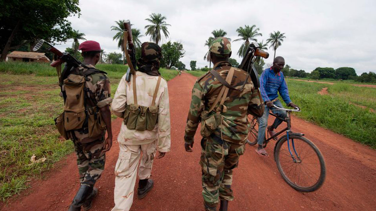 50 killed in militia clashes in Central Africa town
