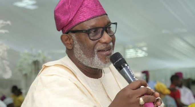 BREAKING: It's time for community policing – Akeredolu ***as South West governors, IGP, other stakeholders meet in Lagos