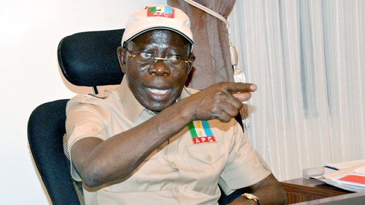 [BREAKING] Bayelsa: APC going to court over Douye Diri, says Oshiomhole