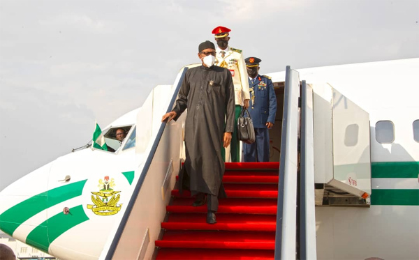 JUST IN: Buhari returns to Abuja today